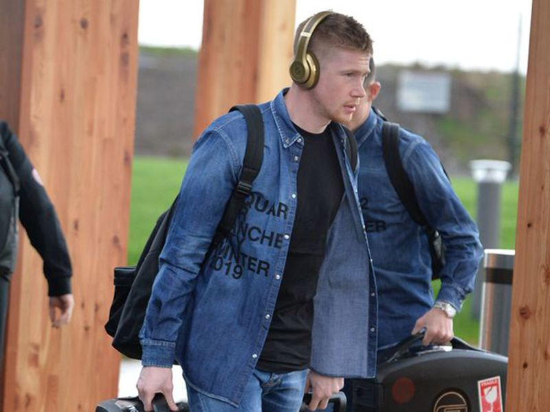 Manchester City in double denim