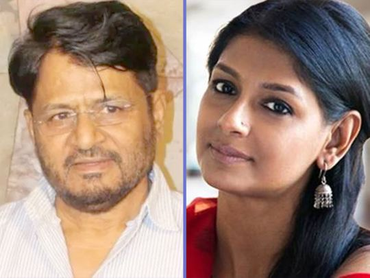 Raghubir Yadav and Nandita Das