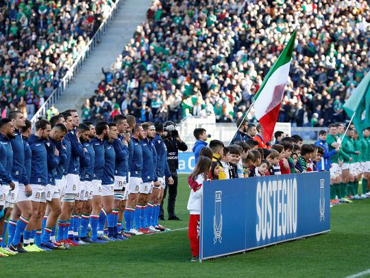 Six Nations: Ireland v Italy has been cancelled
