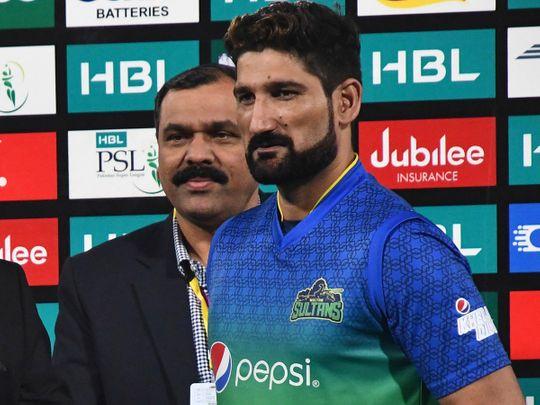 Sohail Tanvir was man of the match for Multan