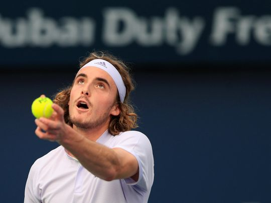 Growing Pains For Greek Family Tsitsipas On Tour Together In Dubai Sport Gulf News