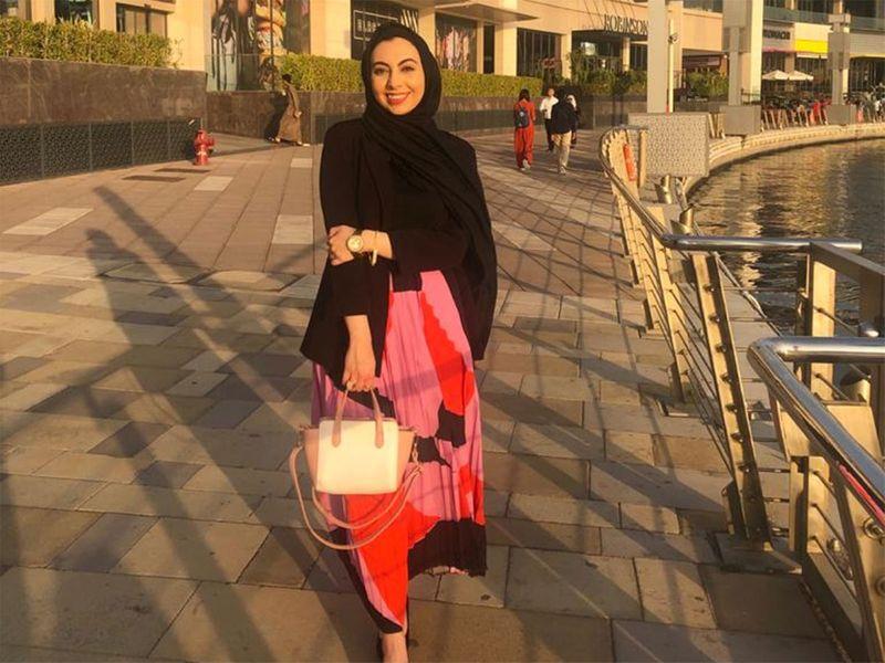 UAE-based Jordanian expat Rawan Haithem