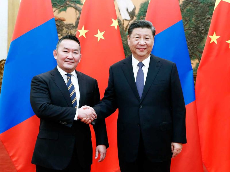 Mongolia president Khaltmaagiin Battulga