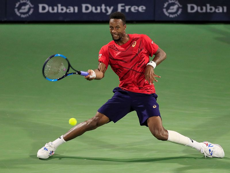 Next up for Djokovic is Gael Monfils, who defeated French compatriot Richard Gasquet 6-3, 6-3
