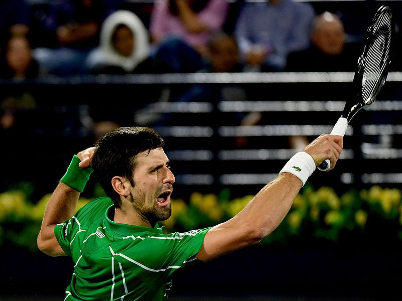 Novak Djokovic showed why he is the top seed as he made short work of Karen Khachanov