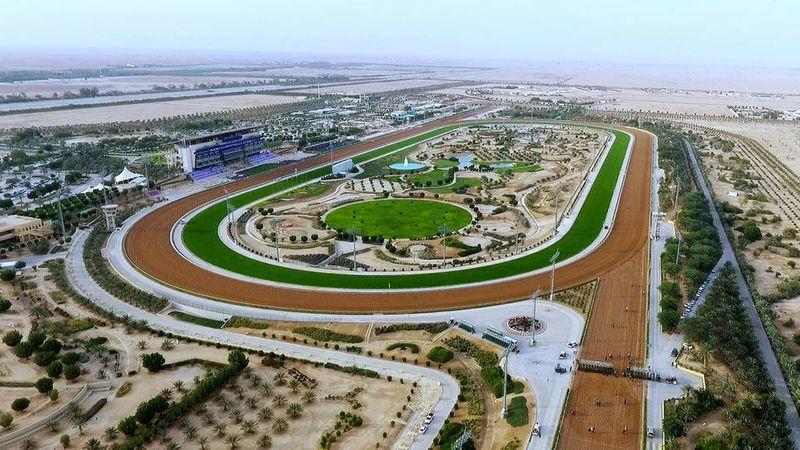 King Abdulaziz Racetrack,  home to world's richest race — the $20m Saudi Cup.