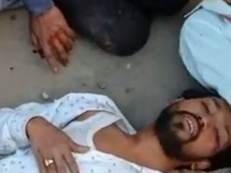 Man beaten within an inch of his life during the Delhi riots