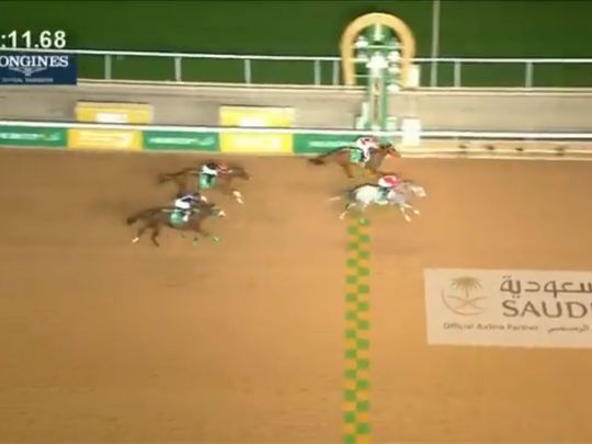 Maximum Security wins inaugural Saudi Cup