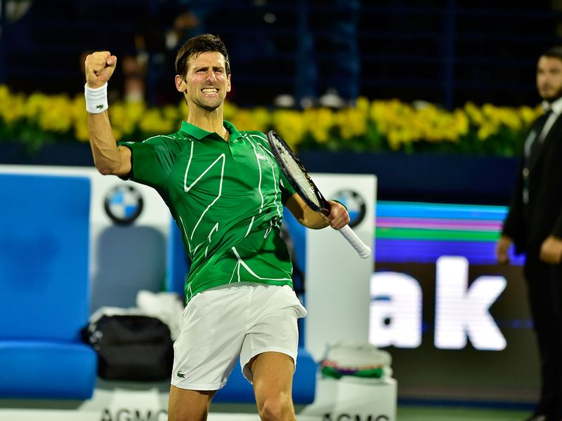 Novak Djokovic  02020