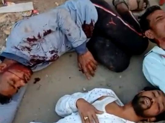 Delhi riot victim