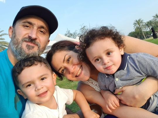NAT Cynthia Darwish with her family-1583059658005