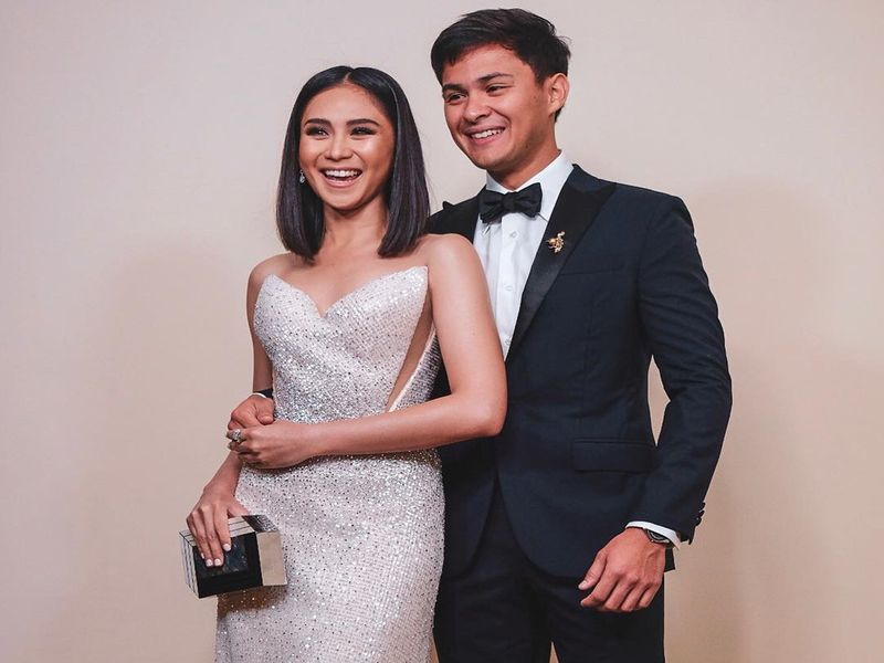 Sarah Geronimo and Matteo Guidicelli