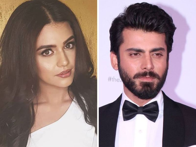 Zara Noor Abbas and Fawad Khan