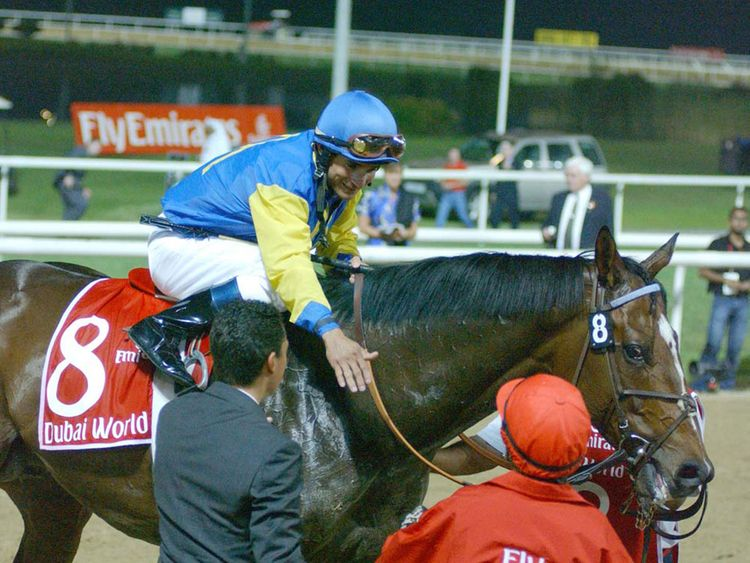 2004: Pleasantly Perfect lived up to its name as Alex Solis took the honours