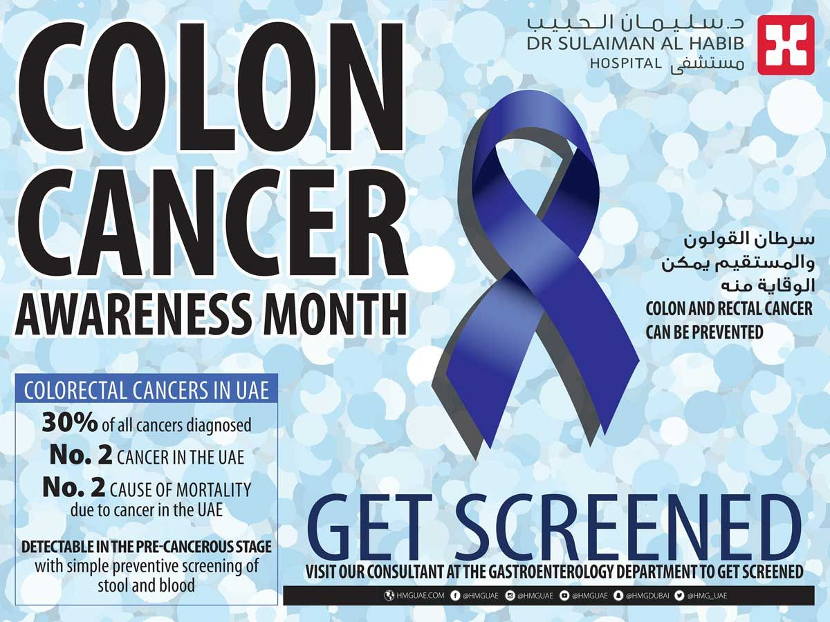 6 Things To Know About Colorectal Cancer Lifestyle Gulf News