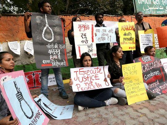 Hanging of Delhi bus rapists postponed indefinitely