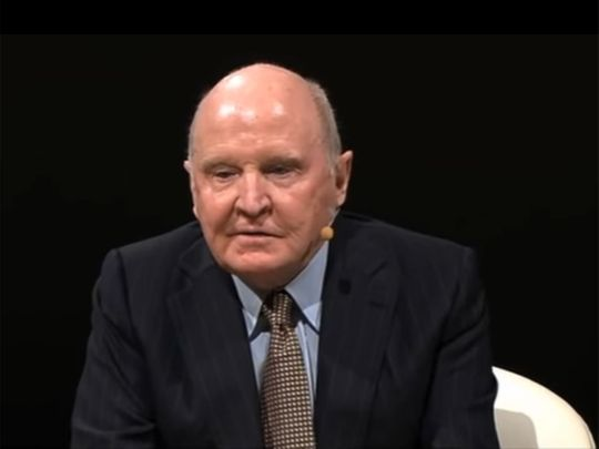Jack Welch had a stutter