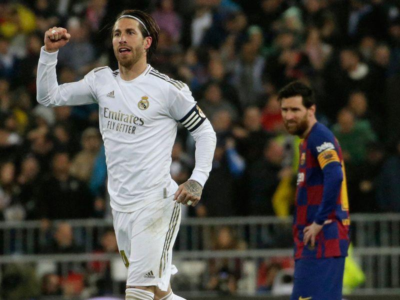 Real Madrid beat Barcelona 2-0