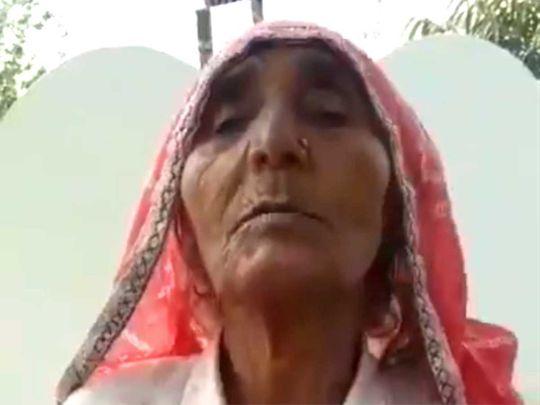 Watch: Elderly Indian woman describes Mahatma Gandhi in fluent English |  India – Gulf News