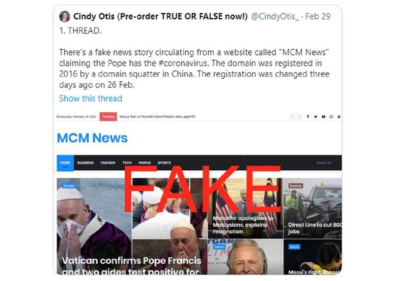 Fake news DOMAIN REGISTRATION