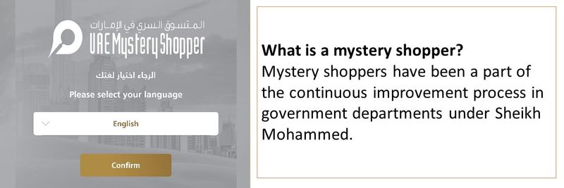 Mystery shopper 4