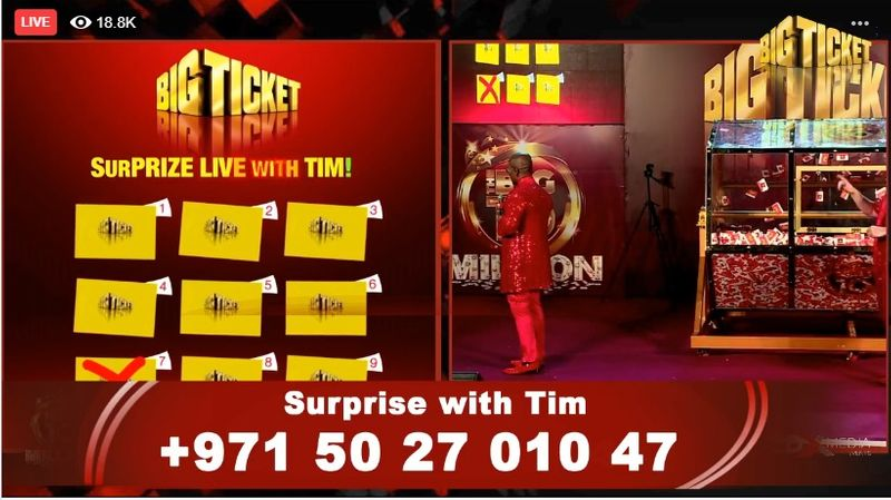 Surprise with Tim