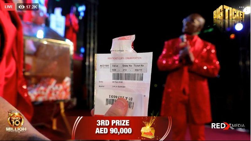 laila suresh 90k winner