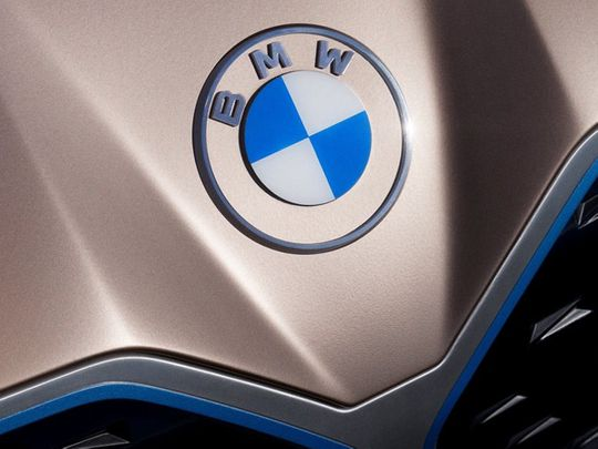 New Look Famous Bmw Roundel Logo Gets A Redesign Auto News Gulf News