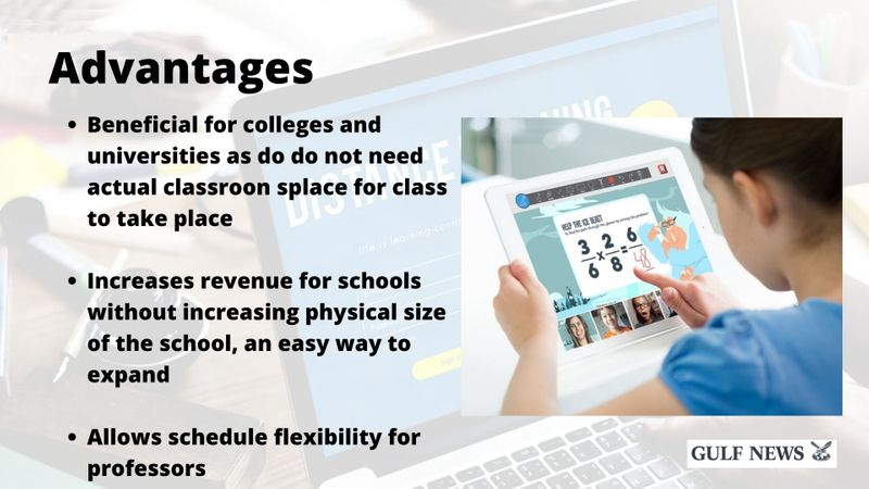 distance learning advantages
