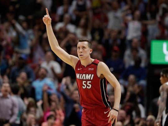 Miami Heat's Duncan Robinson