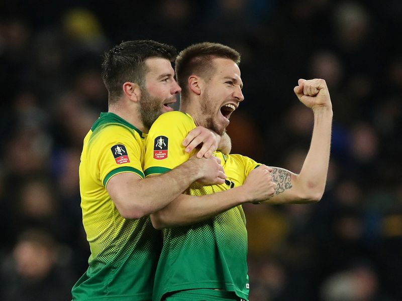 Norwich defeated Tottenham in the FA Cup