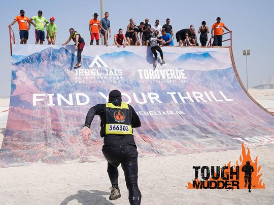 The Tough Mudder event in RAK has been potponed