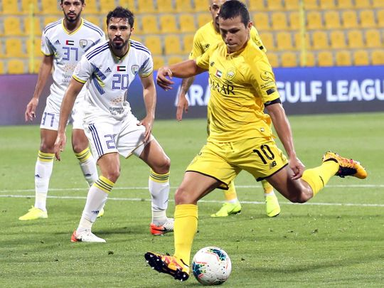Al Wasl defeated Al Dhafra in the AGL