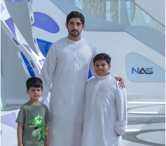 Sheikh hamdan with abdullah