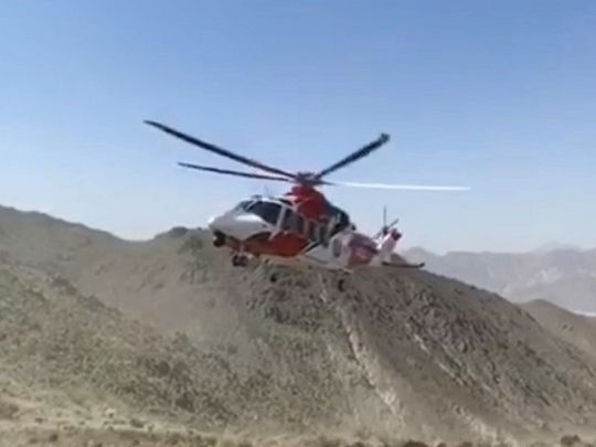Eight rescued in Khor Fakkan