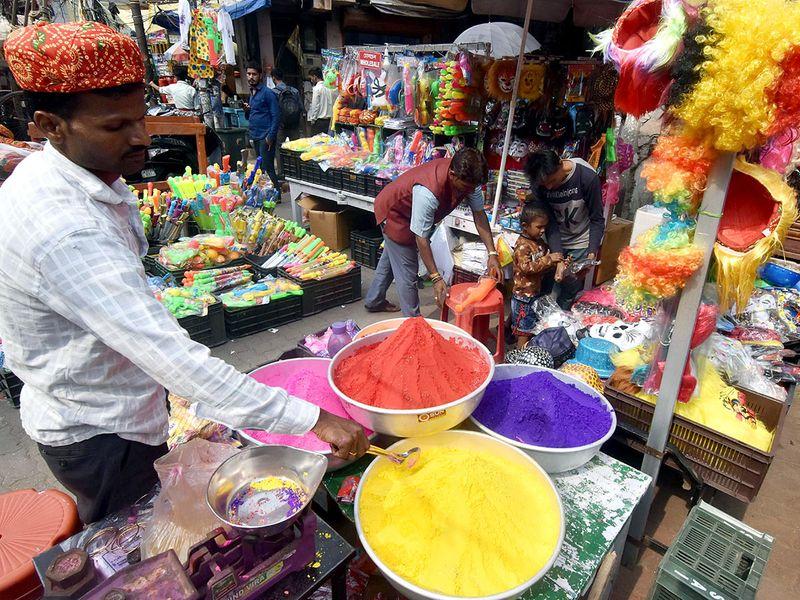 Holi celebrated in India