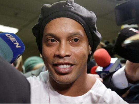 Ronaldinho released from Paraguay prison after five months ...