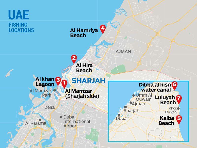 Sharjah fishing