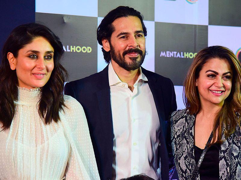 Dino Morea, Kareena Kapoor Khan and Amrita Arora