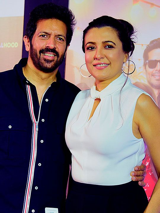 Kabir Khan with his wife Mini Mathur