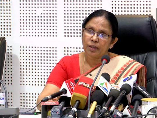 Kerala Health Minister Shailaja