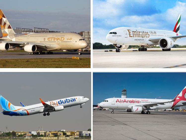 UAE airlines offer free cancellation, rebooking, due to ...