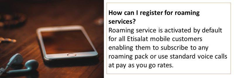 roaming 5