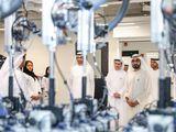 His Highness Sheikh Mohammad bin Rashid Al Maktoum, Vice President and Prime Minister of UAE and Ruler of Dubai inaugurates DEWA's R&D Centre at Solar Park