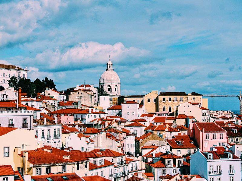 Lisbon, Portugal skyline generic