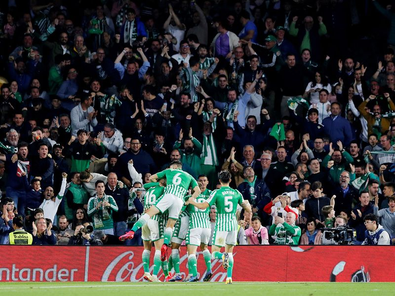 Real Madrid lost to Real Betis 2-1