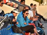 Sania Mirza at the Fed Cup by BNP Paribus on 6th March, 2020. Photo Clint Egbert/Gulf News