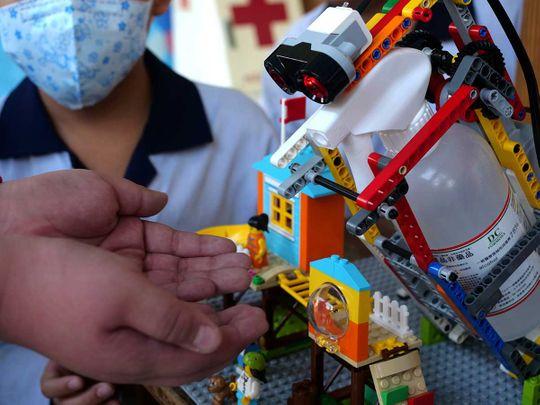 2020-03-09T160119Z_1129497492_RC2GGF932829_RTRMADP_3_HEALTH-CORONAVIRUS-TAIWAN-LEGO-(Read-Only)
