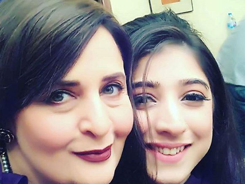 Hina Bayat and Mariyam.Nafees