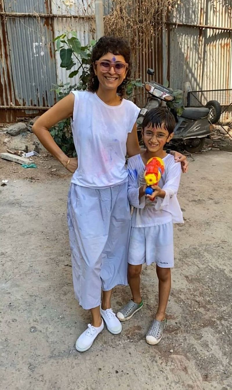 Kiran Rao with son Azad